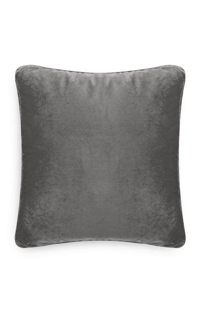 Black Extra Large Velvet Cushion