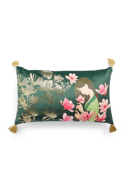Green Mulan Cushion