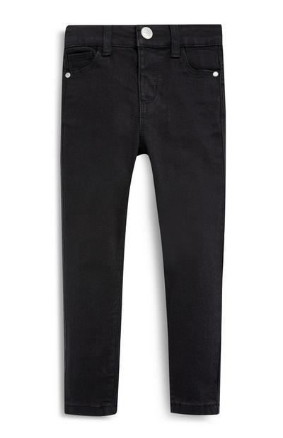 Younger Girl Black Stretch Skinny Jeans