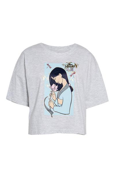 Grey Disneys Mulan T-Shirt