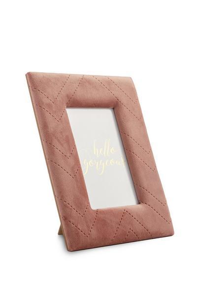 Pink Velvet Frame