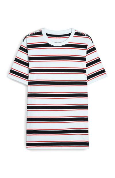 Boxy Striped T-Shirt