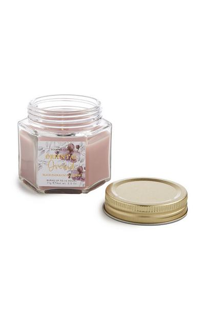 Pink Oriental Orchid Jar Candle