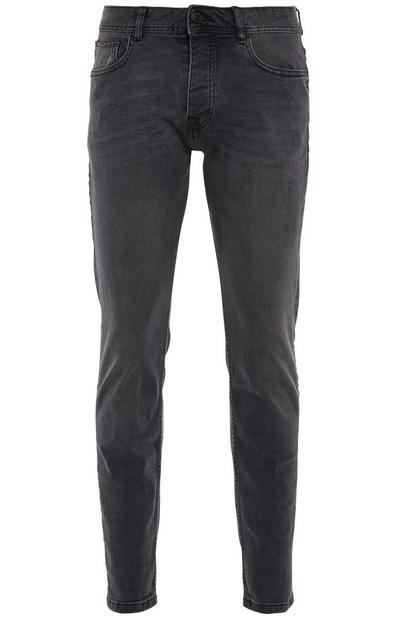 Gray Stretch Slim Jeans