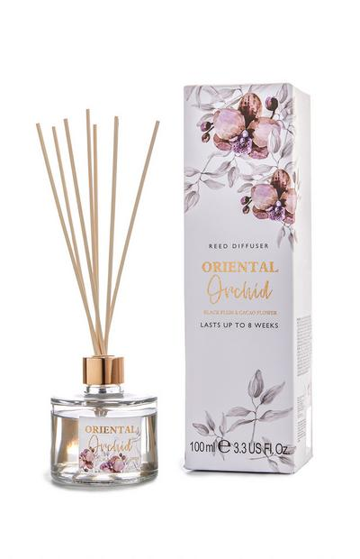 Black Plum And Cacao Flower 100Ml Reed Diffuser
