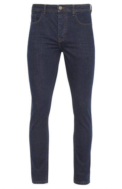 Navy Rinse Wash Slim Fit Jeans