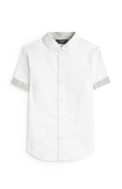 Younger Boy White Beach Comber Shirt