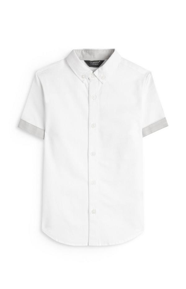 Wit strandoverhemd voor jongens