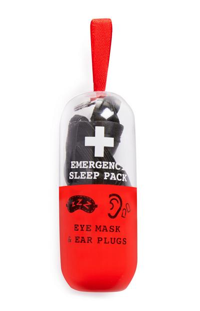 Emergency Eyemask And Earplugs