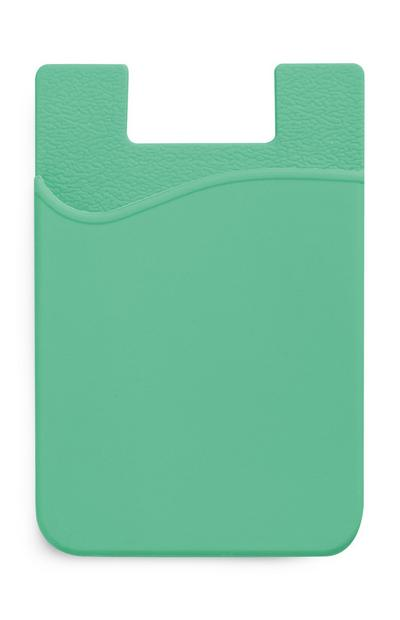Green Silicone Card Holder