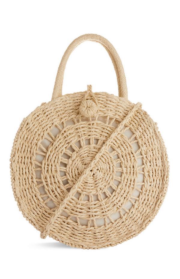 Circular Straw Bag