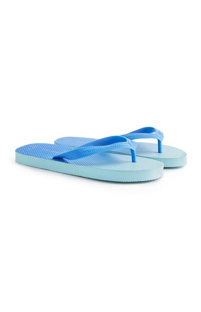 Tongs bleues
