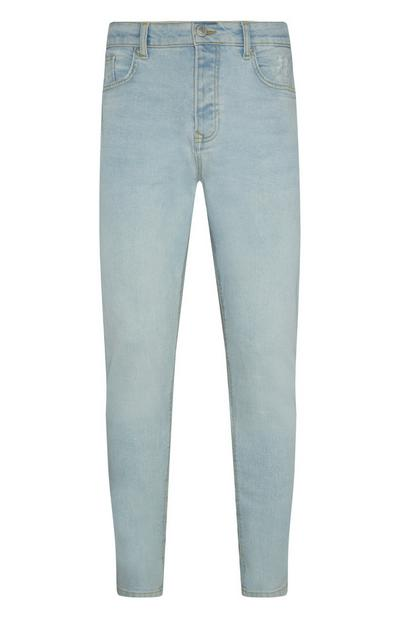 Light Wash Slim Jeans