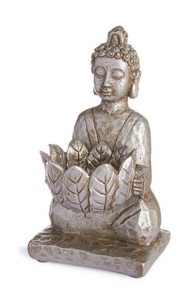 Kleine boeddha-kaarsenhouder