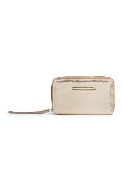 Gold Metallic Purse