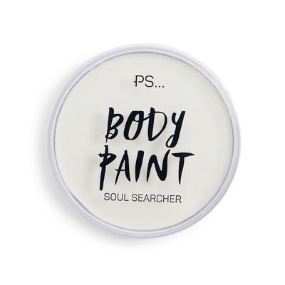 Witte bodypaint