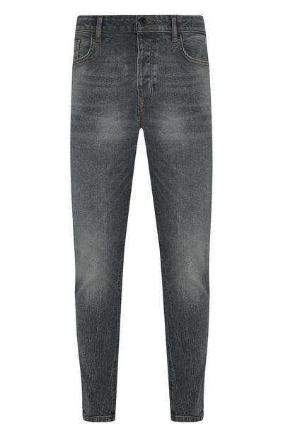 Graue Slim-Fit-Jeans