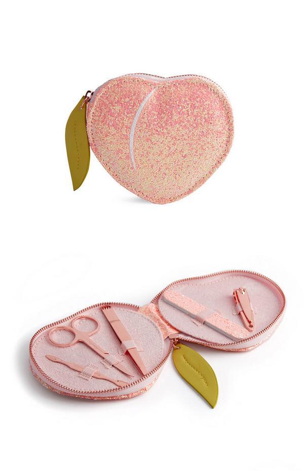 SD Beauty Peachy Manicure Set 5Pc