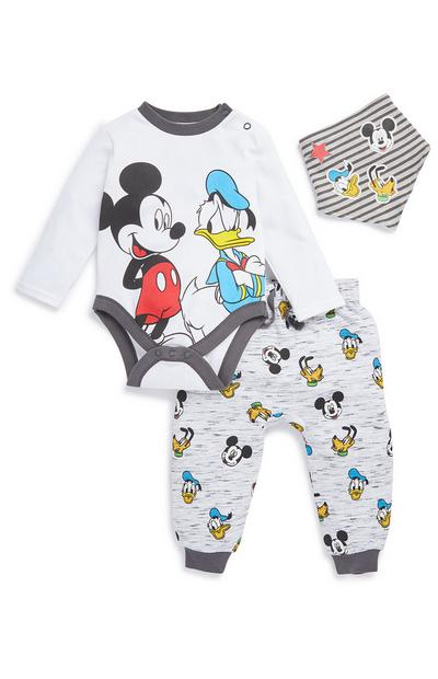 Mickey Mouse and Donald Duck 3-Piece Set