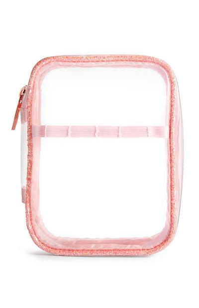 SD Beauty Peachy Clear Travel Bag