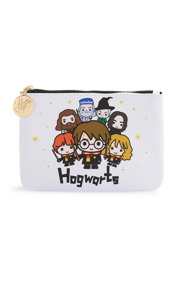 """Weiße Tasche mit """"Harry Potter""""-Motiv"""