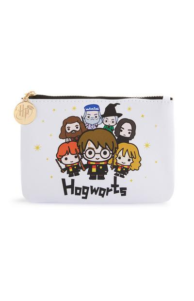 Bolso plano blanco de Harry Potter