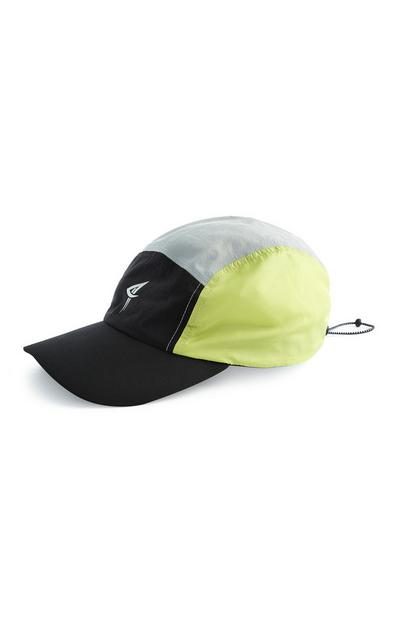 Black And Neon 5-Panel Cap