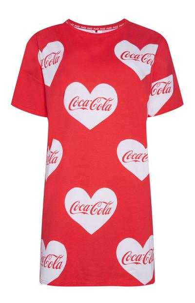 Red Coca Cola Night Dress