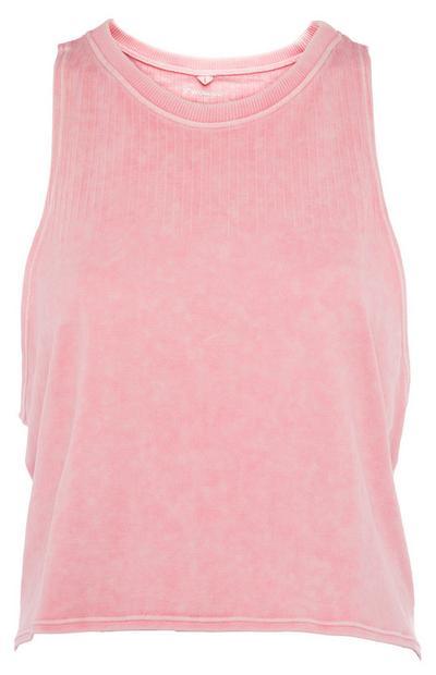 Pink Chalkey Vest