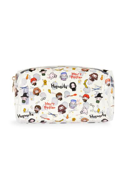 White Harry Potter Make-Up Bag
