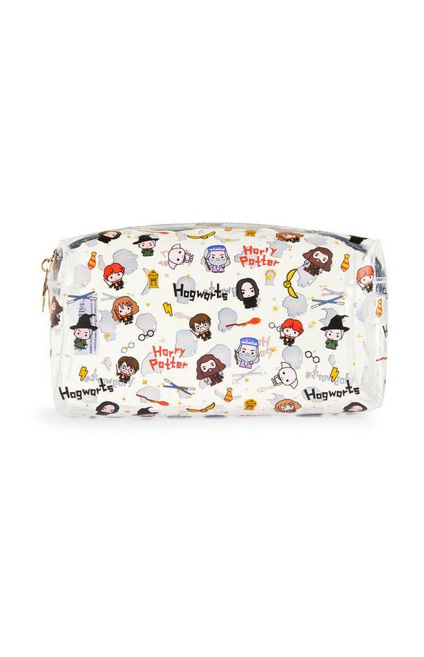 White Harry Potter Make-Up Bag