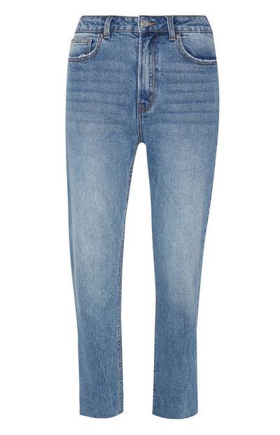 Jean coupe droite bleu clair vintage