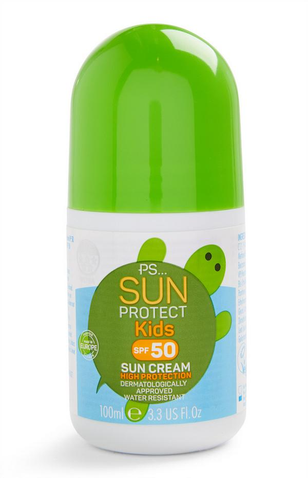 SPF 50 Kids Roll On Sun Cream