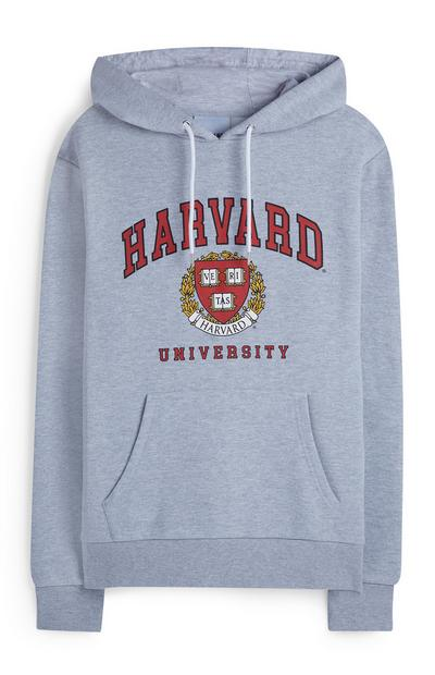 Gray Heather Harvard Hoodie