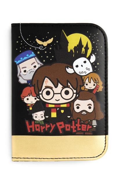 Harry Potter Black And Gold Passport Cover