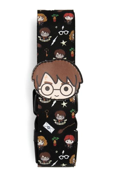 Harry Potter Black Luggage Strap