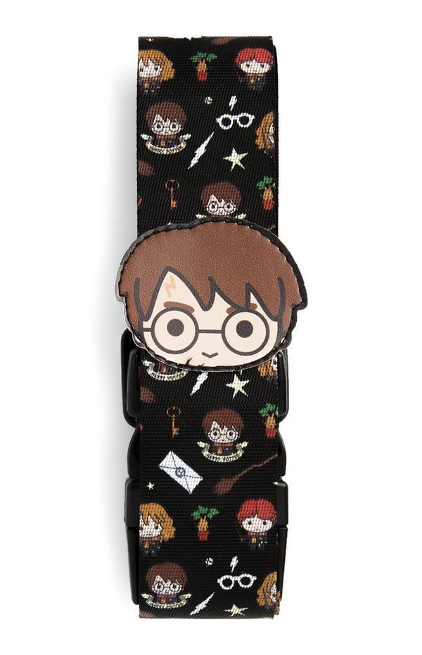 Zwarte kofferriem Harry Potter