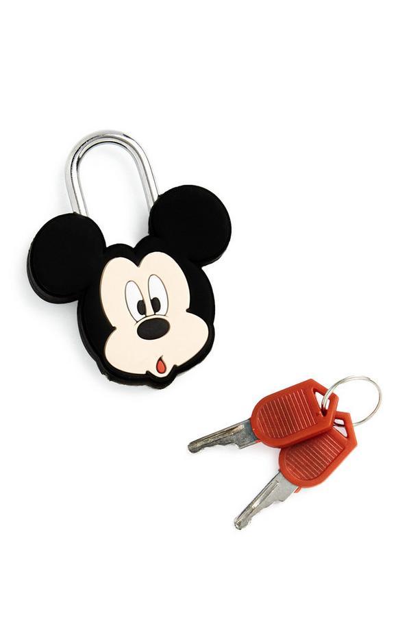 Hangslot en sleutels Mickey Mouse