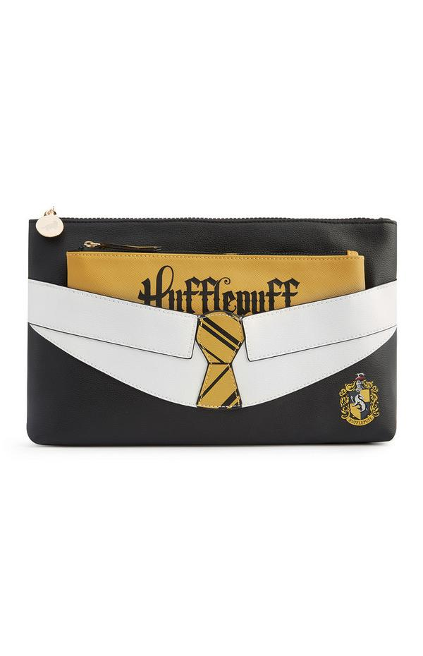 """Harry Potter Hufflepuff"" 2-in-1-Make-up-Tasche"