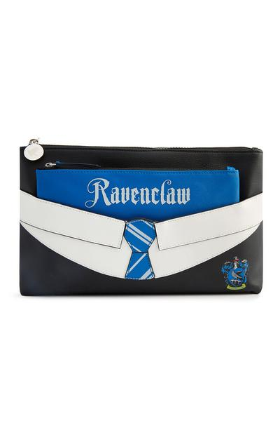 "Blauer ""Harry Potter Ravenclaw"" 2-in-1-Kulturbeutel"