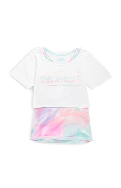 2-in1 Trainings-T-Shirt (Teeny Girls)