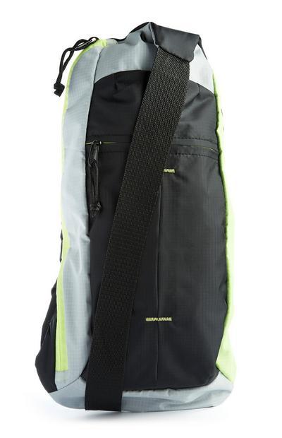 Grand sac à bandoulière fluo