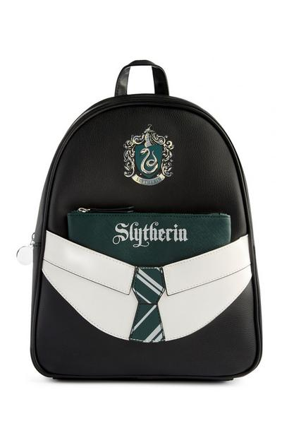 Harry Potter Slytherin Backpack With Removable Pouch