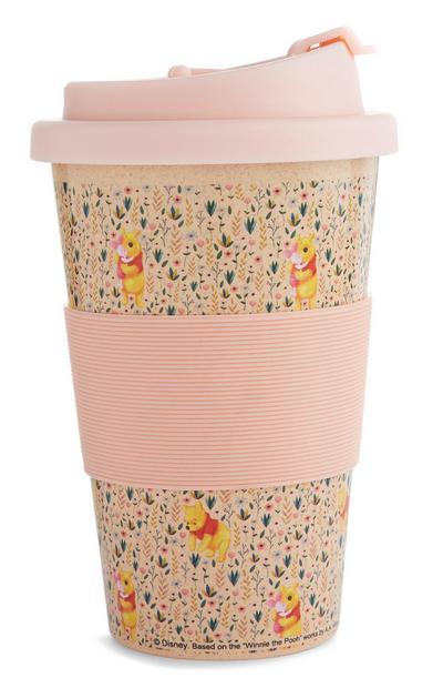 Winnie The Pooh Floral Thermal Mug