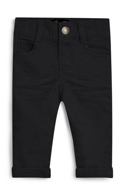 Baby Boy Navy Stretch Pants