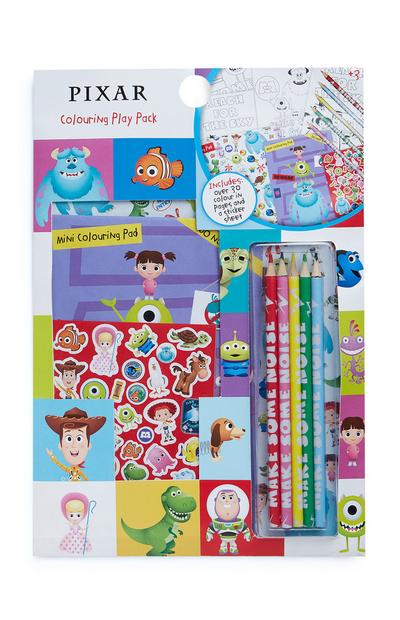 Pixar Colouring Play Pack