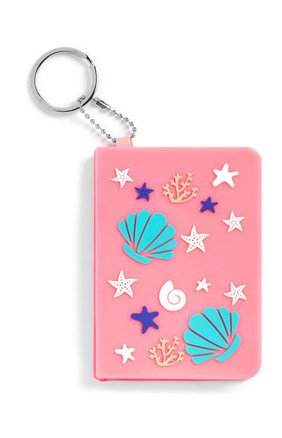 Roze sleutelhanger Under the Sea