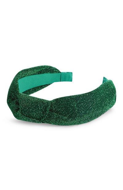Green St. Patrick's Day Turban Headband