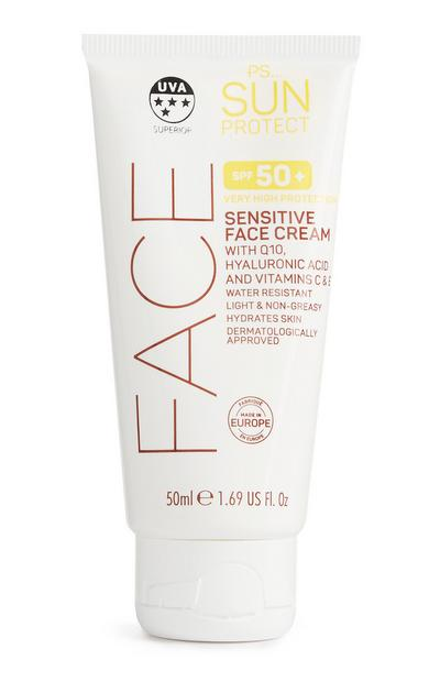 SPF 50 Sensitive Face Cream