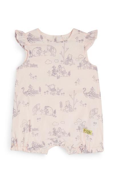 Baby Girl Winnie The Pooh Romper
